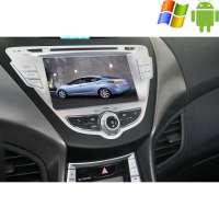 Штатная магнитола Hyundai Elantra Avante до 2014 года Carpad duos II Android 4.4.4
