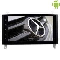 Штатная магнитола Mercedes A/B Vito,Viano,Crafter LeTrun 1675 Android 4.4.4 экран 9 дюймов