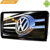 Штатная магнитола Volkswagen Polo, Jetta, Passat, Tiguan 9 дюймов Android 4.4.4 MTK LeTrun 1759