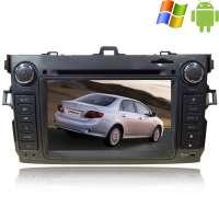 Штатная магнитола Toyota Corolla 2007-2012 Carpad duos II Android 4.4.4