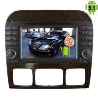 Штатная магнитола Mercedes CL,S W220 W215 S280 S300 S320 S350 LeTrun 1645 Android 5.1