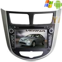 Штатная магнитола Hyundai Solaris Verna Carpad duos II Android 4.4.4
