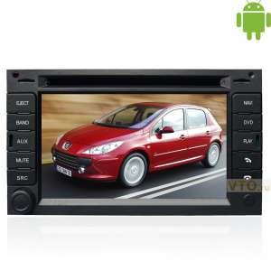Штатная магнитола Peugeot 307 GPS Winca Android 4.0.3 I017I платформа S150