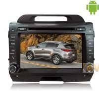 Штатная магнитола Kia Sportage Carpad duos II 8 дюймов Android 4.4.2