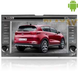 Штатная магнитола Kia Sportage,Carnival,Cerato, Sorento дорестайлинг Carpad duos II Android 4.4.4