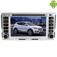 Штатная магнитола Hyundai Santa Fe LeTrun 1520 Android 4.4.4