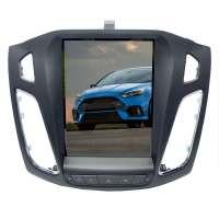 Штатная магнитола Ford Focus 3 LeTrun 3337 KLD 9 дюймов Tesla ++