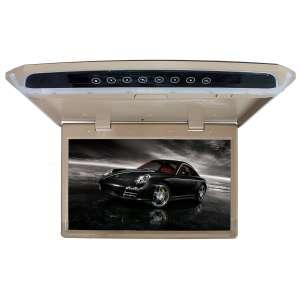 Потолочный монитор LeTrun 2643 15.6 дюйма бежевый SD USB HDMI