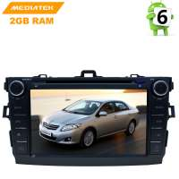 Штатная магнитола Toyota Corolla 2007-2012 г. Android 8.x LeTrun 2679 KD MTK 4G