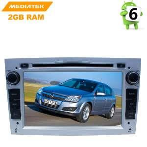 Штатная магнитола Opel Astra, Vectra, Zafira, Corsa LeTrun 2686 KD Android 8.x MTK 4G цвет серебро