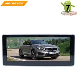 Штатная магнитола Mercedes GLA-сlass 2014-2016 г. LeTrun 2702 Android 7.x 4G