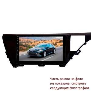 Штатная магнитола для Toyota Camry 2018-2021 гг. дорестайлинг левый руль LeTrun 3223-4463 10 дюймов VT Android 10 MTK-L 2+16 Gb ASP ++
