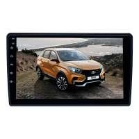Штатная магнитола для Renault Duster с 2010, Logan с 2013, Sandero с 2012, Lada X-ray Nissan Terrano с 2017 LeTrun 4054-4498 9 дюймов XY Android 10 MTK-L 2+16 Gb IPS