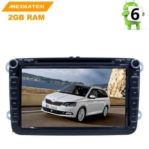 Штатная магнитола Volkswagen Polo, Jetta, Passat, Tiguan LeTrun 2669 Android 8.x MTK 4G