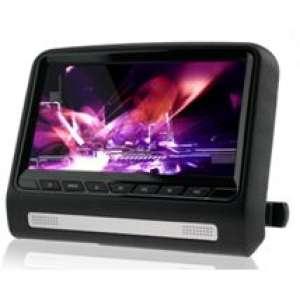 Навесной монитор на подголовник 9 дюймов LeTrun 9917 DVD-SD-USB бежевый