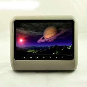 Навесной монитор на подголовник 9 дюймов LeTrun 9917 DVD-SD-USB серый