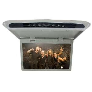 Потолочный монитор LeTrun 2654 10.1 дюйма серый SD HDMI