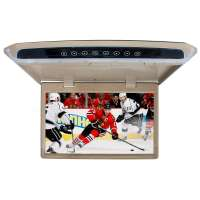 Потолочный монитор LeTrun 2655 10.1 дюйма бежевый SD HDMI
