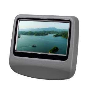 Навесной монитор на подголовник 9 дюймов LeTrun 908 DVD-SD-USB серый