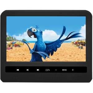 Навесной монитор на подголовник 9 дюймов LeTrun 995 DVD-SD-USB черный