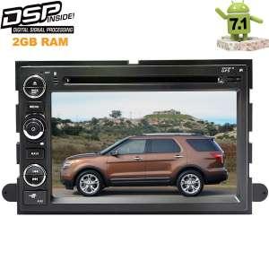 Штатная магнитола Ford Explorer, F150, F250 2005-2011 LeTrun 2217 Android 7.1.1 DSP