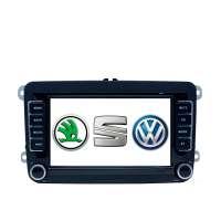 Штатная магнитола Volkswagen Polo, Jetta, Passat, Tiguan 7 дюймов Android 9.x LeTrun 3250 NS 2+32 Gb