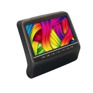 Навесной монитор на подголовник 9 дюймов LeTrun 2002 DVD-SD-USB черный