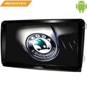 Штатная магнитола Skoda Fabia, Rapid, Roomster,Yeti 9 дюймов Android 4.4.4 MTK LeTrun 1768