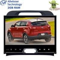 Штатная магнитола Kia Sportage LeTrun 2382 ZH Android 7.x T3 2 Gb экран 9 дюймов