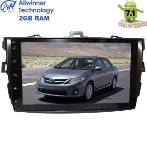 Штатная магнитола Toyota Corolla 2007-2012 Android 7.1.1 T3 2 Gb LeTrun 2383 ZH