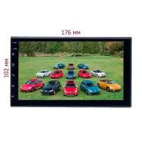 Магнитола 2 DIN универсальная LeTrun 4525 XY Android 10.x MTK-L 2+16 Gb IPS ++