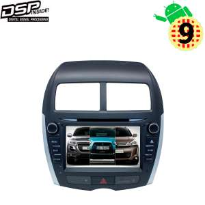Штатная магнитола Mitsubishi ASX, Citroen C4 Aircross, Peugeot 4008 LeTrun 3068 KD Android 9.x DSP