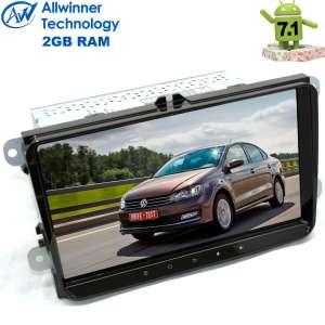 Штатная магнитола Volkswagen Polo, Jetta, Passat, Tiguan LeTrun 2129 Android 7.1.1 Alwinner