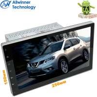 2 DIN универсальная магнитола LeTrun 2131 Android 7.1.1 Alwinner T3 Nissan (до 14г) 10 дюймов