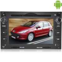 Штатная магнитола Peugeot 307, Volkswagen Golf IV, Passat B5 LeTrun 1587 Android 4.4.4