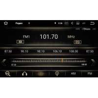 Штатная магнитола Mazda 6 2007-2012 LeTrun 2353 Android 7.1.1 серая