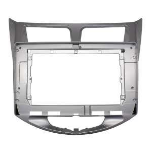 Переходная рамка для Hyundai Solaris LeTrun 2597 под базовую магнитолу 10 дюймов