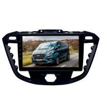 Штатная магнитола для Ford Transit, Tourneo Custom (для комплектации без CD) 2012-2020  LeTrun 3048-2361 9 дюймов KD Android 8.x MTK-L 2.5D 1+16 Gb