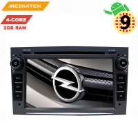 Штатная магнитола Opel Astra, Vectra, Zafira, Corsa LeTrun 3051 KD Android 9.x MTK-L DSP 2+32 Gb