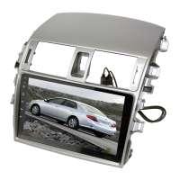 Переходная рамка для Toyota Corolla 2007-2012 LeTrun 1859  под базовую магнитолу 9 дюймов MTK