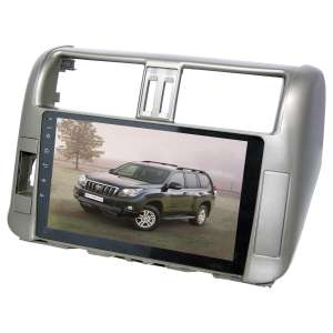 Переходная рамка для Toyota Prado 150 2009-2013 LeTrun 1863  под базовую магнитолу 9 дюймов MTK