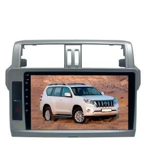 Штатная магнитола для Toyota Prado 150 2013-2017 гг. LeTrun 1864-2509 10 дюймов KD Android 8.x MTK 4G 2.5D 2+16 Gb