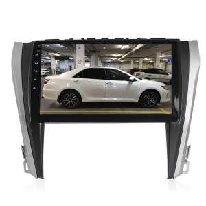 Переходная рамка для Toyota Camry 2014+ LeTrun 1866  под базовую магнитолу 10 дюймов