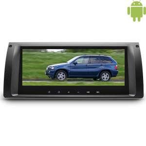 Штатная магнитола BMW E39 E53 LeTrun 1688 9 дюймов! Android 4.4.4