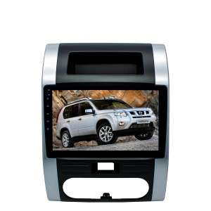 Штатная магнитола Nissan X-trail до 2014 г.LeTrun 2166 ZH Android 7.x Alwinner T3 экран 9 дюймов