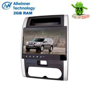 Штатная магнитола Nissan X-trail до 2014 г.LeTrun 2166 Android 7.1.1 Alwinner T3 экран 9 дюймов