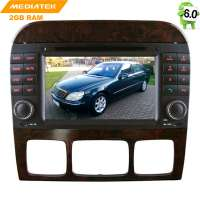 Штатная магнитола Mercedes CL W215,S W220, S280, S300, S320, S350 LeTrun 1978 Android 8.x MTK 4G