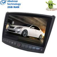 Штатная магнитола Lexus IS 250 LeTrun 2418 Android 7.1.1  Alwinner T3