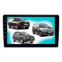 Штатная магнитола для MMC Outlander, Peugeot 4007 LeTrun 3796-2987 9 дюймов NS Система 360° MTK 2+32 Gb Android 7.x