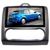 Штатная магнитола для Ford Focus 2 (с климатом) LeTrun 2446-2934 9 дюймов KD Android 8.x MTK 4G 2+16 Gb